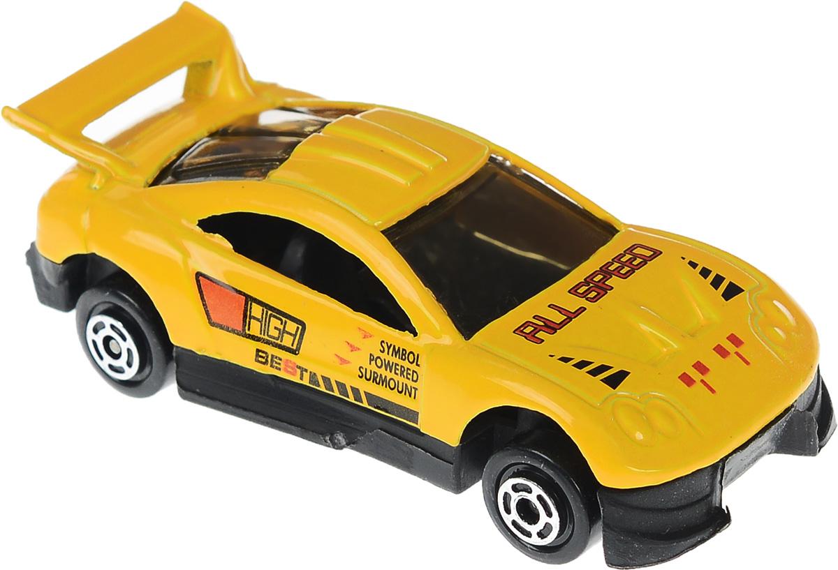 Big Motors Машинка цвет оранжевыйJP632_оранжевыйМашинка Big Motors станет любимой игрушкой вашего малыша. Игрушка представляет собой спортивную машину. Колеса имеют свободный ход. Машинка выполнена из яркого металла с элементами из прочного пластика. Ваш ребенок будет часами играть с этой машинкой, придумывая различные истории.