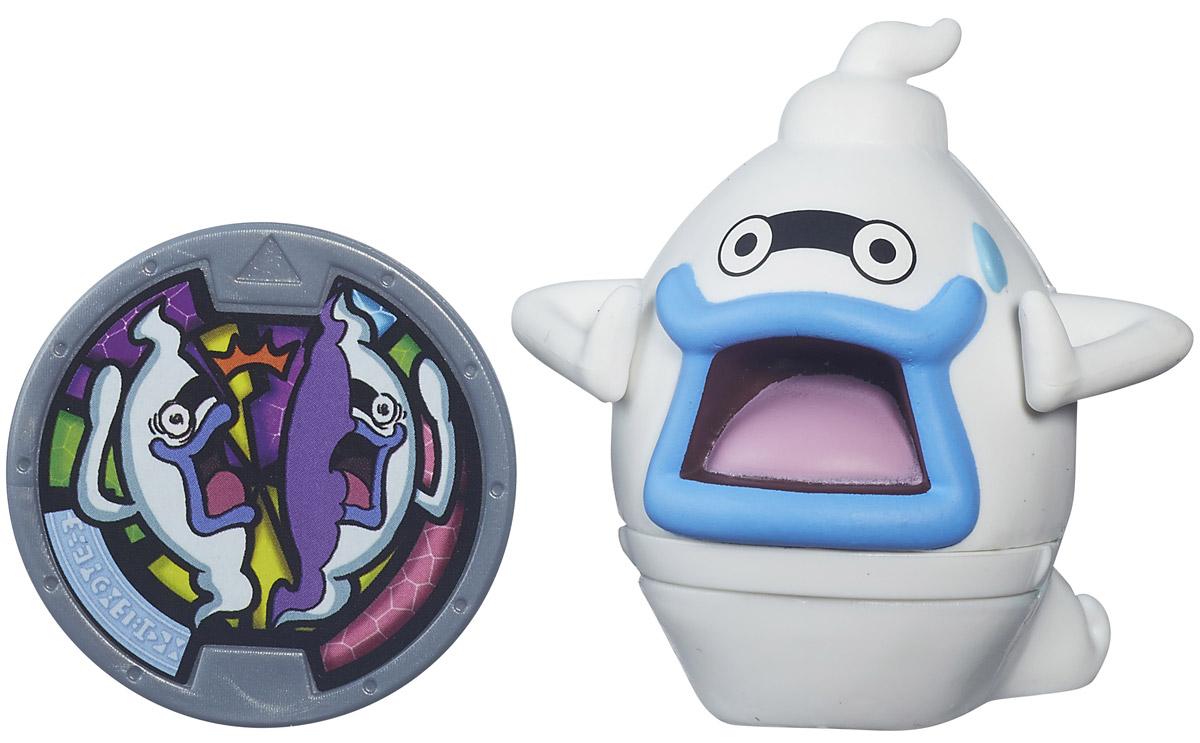 Yo-kai Watch Фигурка Whisper с медальюB5937_B5939В мире Yo-kai у персонажей иногда случаются дни, когда все идет не так. Они теряют ключи. У них спадают штаны. Несомненно, во всем этом виноваты Yo-kai. Они находятся повсюду, каждый день отвлекая и доставляя неудобства окружающим. Их не может видеть никто, кроме тех персонажей, которые подружились с ними. Whisper - это Проводник по миру Yo-kai, который знает все, что необходимо знать о его мире... или все, что он хочет внушить людям. Почти все свои знания он хранит в блокноте Yo-kai, который всегда носит с собой. Заведите дома забавных персонажей из мультсериала Yo-kai Watch. К каждой фигурке прилагается медаль. Играть с любой Yo-kai-медалью можно тремя способами. 1. Можно вызвать персонажа Yo-kai, вставив медаль в игрушечные часы Yo-kai Watch (приобретаются отдельно), и тогда вы услышите имя персонажа и другие звуки. Большинство медалей также могут воспроизводить песню своего клана. 2. Можно погрузиться в изучение сказочного мира Yo-kai, отсканировав...