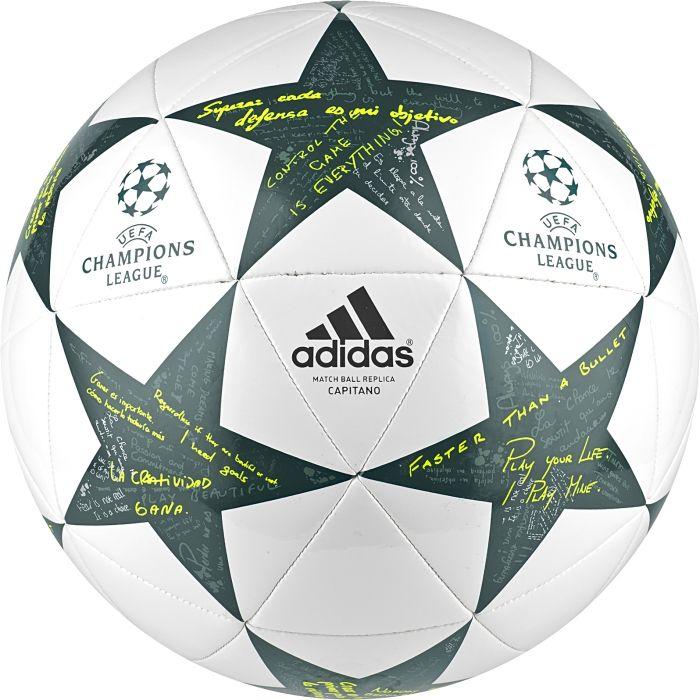 Мяч футбольный подарочный Adidas Finale16 Cap, цвет: белый