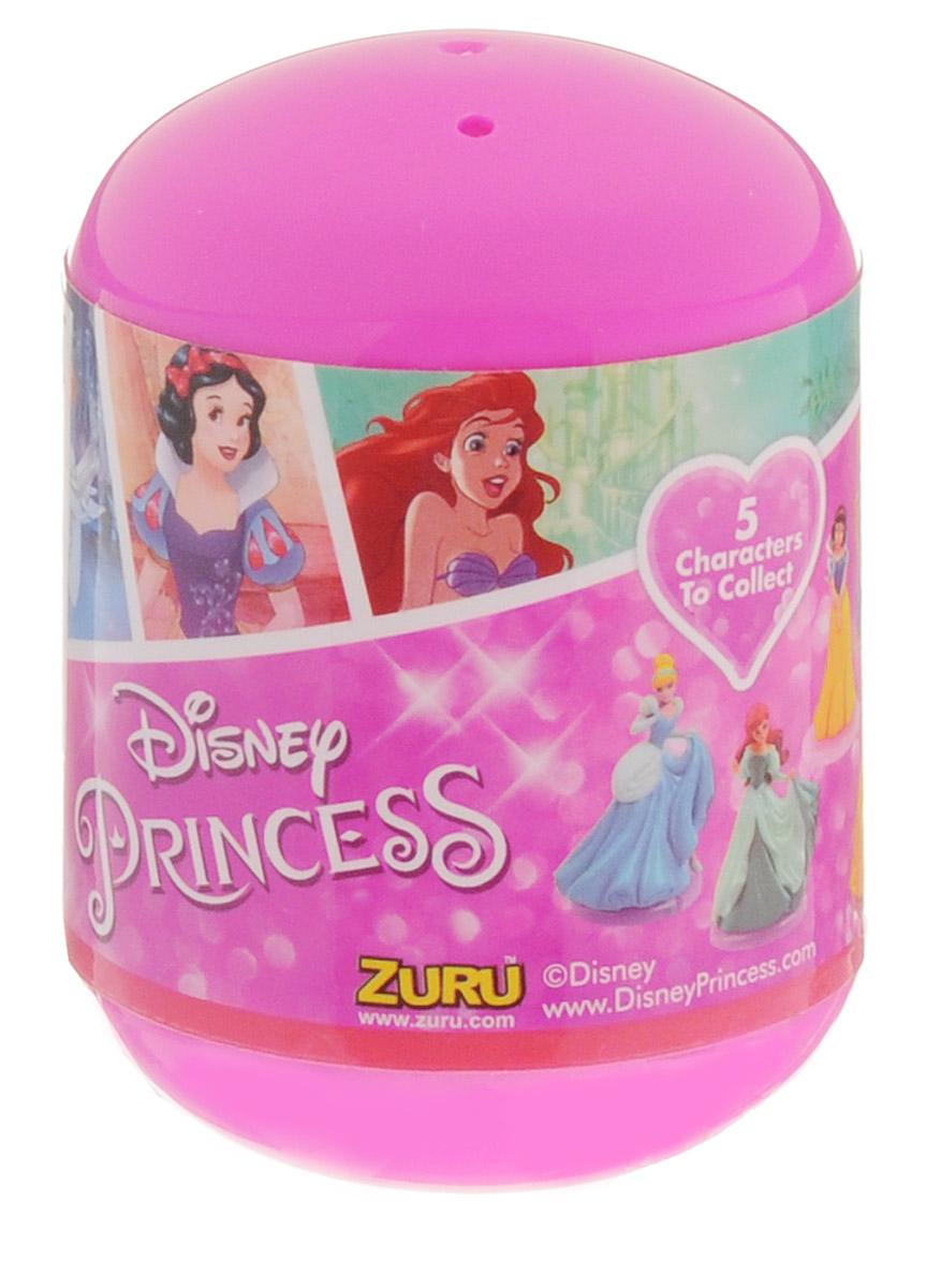 Zuru Фигурка Принцессы Диснея4702Q2Оригинальная фигурка Zuru Принцессы Диснея поставляется в непрозрачной пластиковой капсуле. В коллекции представлены 5 персонажей: Рапунцель, Ариэль, Белоснежка, Белль и Золушка. Приобретая игрушку, вы не можете знать, какой именно герой достанется вам на этот раз - но ведь это так интересно! Фигурки устойчиво держатся на подставке, что позволит поставить их на полку и любоваться своей коллекцией!