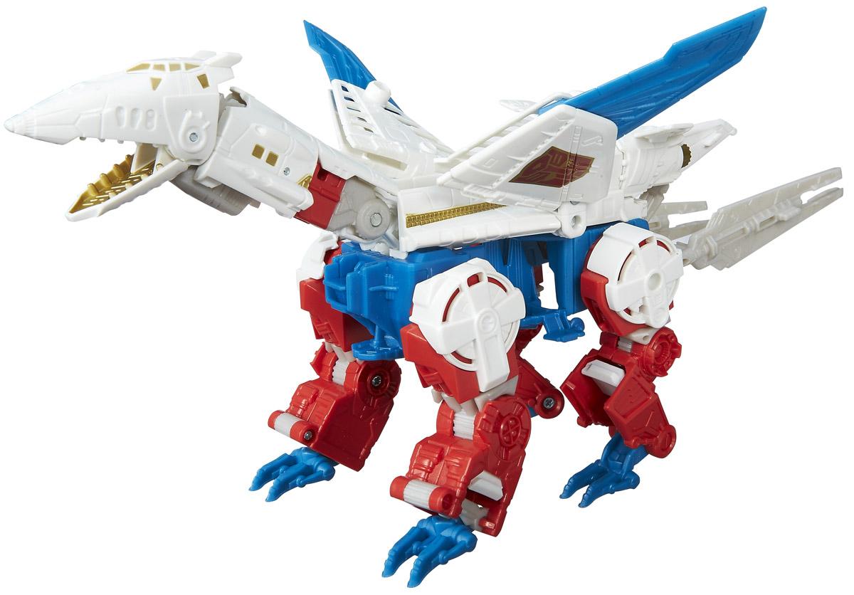 Transformers Трансформер Sky LynxB0975EU0_B5609Трансформер Sky Lynx непременно понравится всем юным поклонникам знаменитого мультсериала! Фигурка выполнена из прочного пластика. Руки и ноги робота подвижны. В несколько простых шагов ваш малыш сможет трансформировать фигурку робота в самолет и обратно. Ребенок с удовольствием будет играть с фигуркой, придумывая различные истории. Порадуйте его таким замечательным и увлекательным подарком! Соберите свою непобедимую команду трансформеров! Вы можете установить бесплатное приложение Transformers Robots in Disguise на ваш смартфон. С игрушками серии Robots in Disguise персонажей можно добавлять по ходу игры совершенно бесплатно! Просто сканируйте специальные значки на своих игрушках.