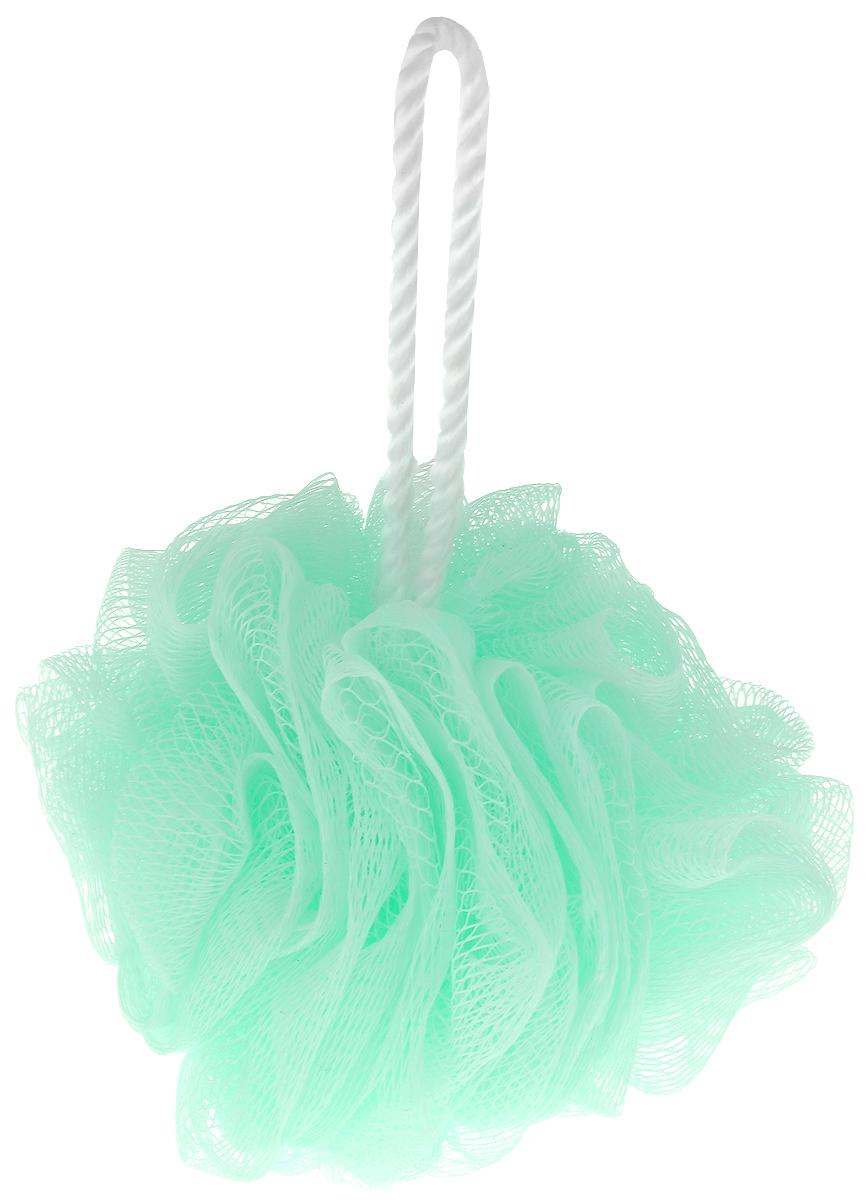 Мочалка Eva Бантик, цвет: светло-бирюзовый, диаметр 11 смМС45_бирюзовыйМочалка Eva Бантик, выполненная из нейлона, предназначена для мягкого очищения кожи. Она станет незаменимым аксессуаром ванной комнаты. Мочалка отлично пенится, обладает легким массажным воздействием, идеально подходит для нежной и чувствительной кожи. На мочалке имеется удобная петля для подвешивания. Диаметр: 11 см.