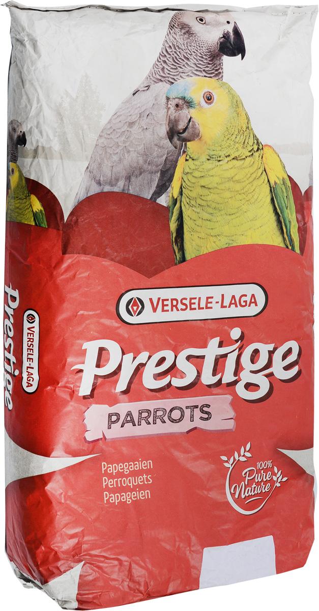 Корм Versele-Laga Prestige Parrots для крупных попугаев, 15 кг421820Корм Versele-Laga Prestige Parrots идеально подойдет для крупных пород попугаев. Он содержит большое количество зерен различных растений, дополнительно обогащен комплексом витаминов, микроэлементов и минералов, которые необходимы крупным попугаям для полноценной жизни. Корм прекрасно подойдет для ежедневного употребления. Благодаря большой упаковке оптимален для применения заводчиками. Товар сертифицирован.