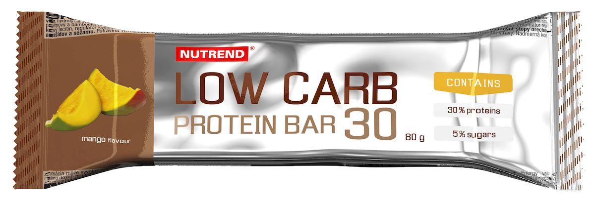 Протеиновый батончик Nutrend Low Carb Protein bar 30, 80 г, mango