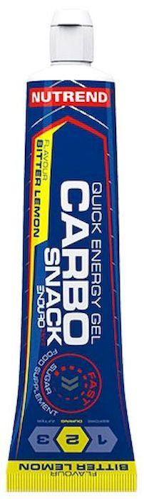 Энергетический гель Nutrend Carbosnack, tube 55 г, bitter lemon