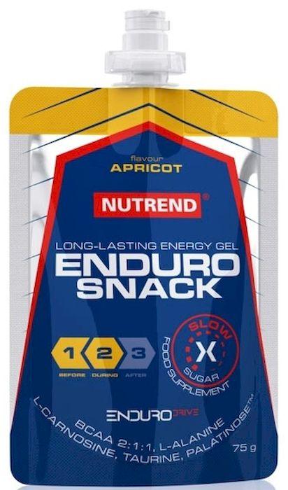 Энергетический гель Nutrend Endurosnack, sachet 75 г, apricot