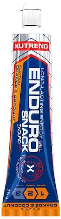 Энергетический гель Nutrend Endurosnack, tube 75 г, orange-coconut