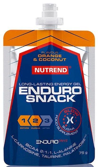 Энергетический гель Nutrend Endurosnack, sachet 75 г, orange-coconut