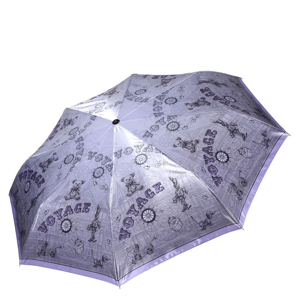 Зонт женский Fabretti, цвет: серый. L-16112-3L-16112-3Женский зонт от итальянского бренда Fabretti. Насыщенный серый цвет в сочетании с нежными розовыми оттенками сделают вас неотразимой в любую непогоду! Яркий и молодежный принт превращает модель в роскошный аксессуар, который придется по вкусу ценителям модных тенденций. Значительным преимуществом данной модели является система антиветер, которая позволяет выдержать сильные порывы ветра. Материал купола – сатин. Он невероятно изящен, приятен на ощупь, обладает высокой прочностью, а также устойчив к выцветанию. Эргономичная ручка сделана из высококачественного пластика-полиуретана с противоскользящей обработкой.