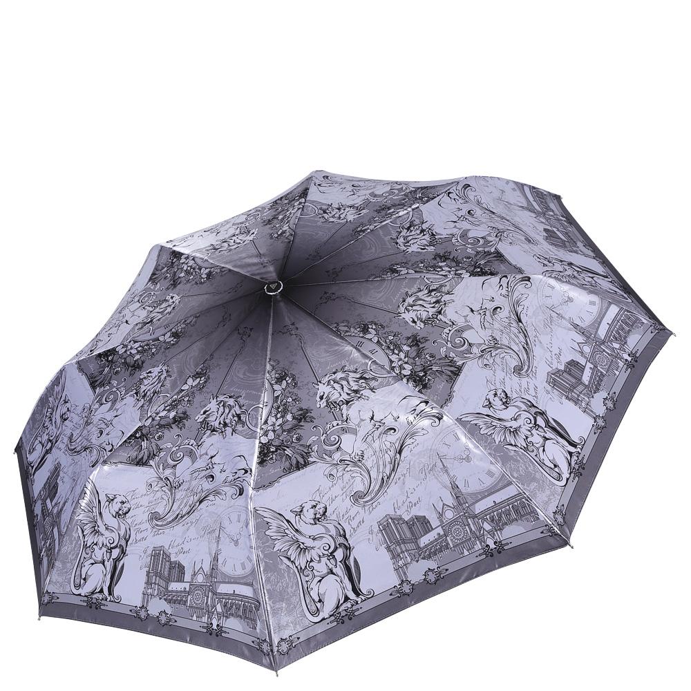 Зонт женский Fabretti, цвет: мультиколор. L-16112-4L-16112-4Женский зонт от итальянского бренда Fabretti. Значительным преимуществом данной модели является система антиветер, которая позволяет выдержать сильные порывы ветра. Материал купола – сатин. Он невероятно изящен, приятен на ощупь, обладает высокой прочностью, а также устойчив к выцветанию. Эргономичная ручка сделана из высококачественного пластика-полиуретана с противоскользящей обработкой.