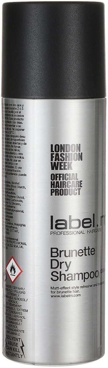 Label.m Сухой шампунь для брюнеток Dry Shampoo, 200 млLSBR0200*Label.M Dry Shampoo Сухой шампунь для брюнеток Этот уникальный шампунь является легким, порошковым аэрозолем, который позволит вам качественно освежить и обновить укладку волос, при этом не нужно будет мыть голову, это необходимо в тех случаях, когда у вас нет возможности помыть волосы. Это средство хорошо поможет создать сухую, матовую текстуру и объемность вашей прически. Сухой шампунь отлично подойдёт для постоянного применения и достижения наилучшей фиксации прически, а ещё помогает завить волосы, и хорошо увлажнить их. Повседневное применение шампуня от Лебел М позволит вашим волосам получать требуемую стимуляцию, они будут надёжно защищены от плохого влияния ультрафиолетовых лучей. Этот шампунь поможет вам в любой ситуации качественно ухаживать за волосами, при этом он позволит вам выполнить необходимую укладку.