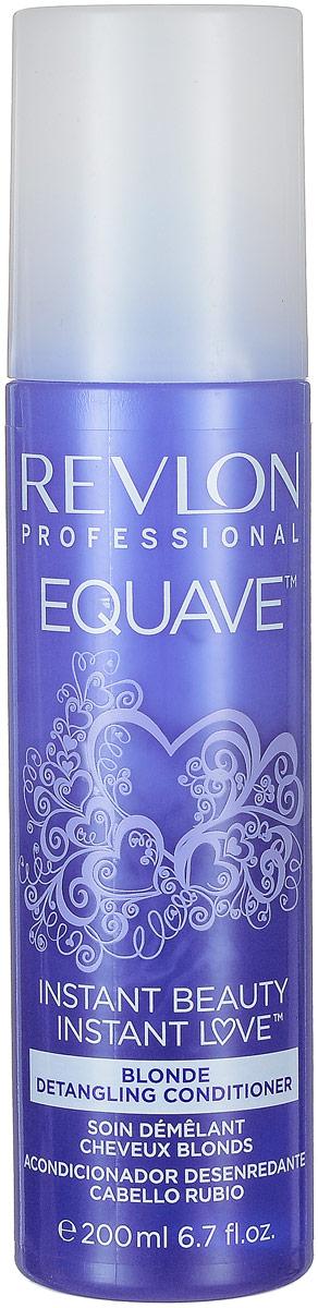 Revlon Professional Несмываемый кондиционер для блондированных, обесцвеченных, мелированных и седых волос Equave Instant Beauty Blonde