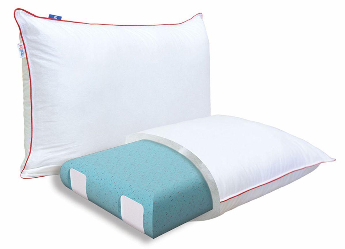 Подушка ортопедическая Mediflex Forte Plus, размер LPO.FORTPL.LСон на неправильной подушке является причиной ухудшения качества сна. Подушки разработаны специалистами лаборатории сна совместно с академиком В.И. Дикулем, гарантируют поддержку шейных позвонков во время сна.