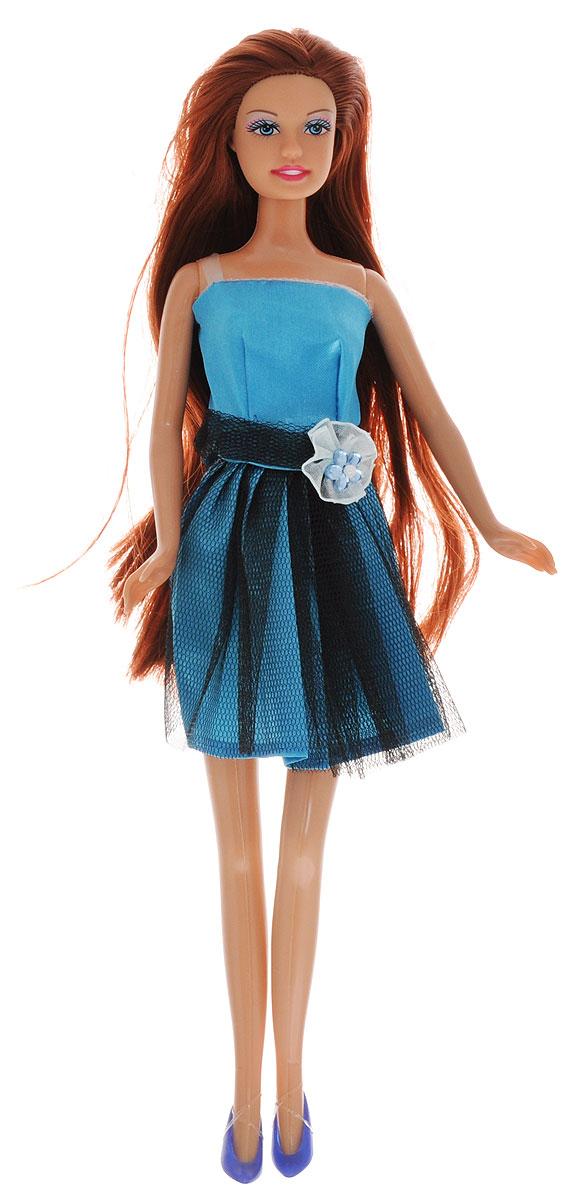 Defa Кукла Lucy цвет платья голубой черный8136d_голубойКукла Defa Lucy обязательно понравится любой девочке и позволит ей погрузиться в сказочный мир волшебства. Очаровательная куколка одета в короткое голубое платье с сетчатой верхней юбкой и декоративным украшением на поясе. На ногах у Люси - темно-сиреневые туфельки на каблуках. Вашей дочурке непременно понравится расчесывать и заплетать длинные волосы куклы. Руки, ноги и голова куклы подвижны, благодаря чему ей можно придавать различные позы. Благодаря играм с куклой ваша малышка сможет развить фантазию и любознательность, овладеть навыками общения и научиться ответственности.