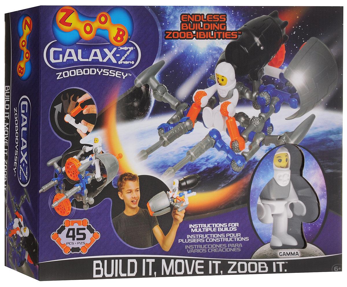 Zoob Конструктор ZoobOdyssey160220-3Zoob - подвижный многовариантный конструктор, завоевавший внимание детей и их родителей во всем мире. Откройте для себя выход в иные миры с космическим кораблем Одиссей от компании Zoob. В набор входят 45 деталей ярких цветов. Юный инженер сможет собирать уже существующие в инструкции пошаговые схемы моделей или разрабатывать свои собственные. И ещё один классный бонус этого набора - фигурка астронавта. У наборов ZOOB практически не существует уникальных деталей. Всех их можно использовать в любой из моделей конструктора. Элементы конструктора Zoob соединяются между собой более чем 20 различными способами. Представьте ту безграничность вариантов моделей, которые можно создать с помощью конструктора Zoob! В процессе игры с конструктором ZOOB у детей развиваются пространственное воображение, творческие способности и навыки конструирования колесной техники.