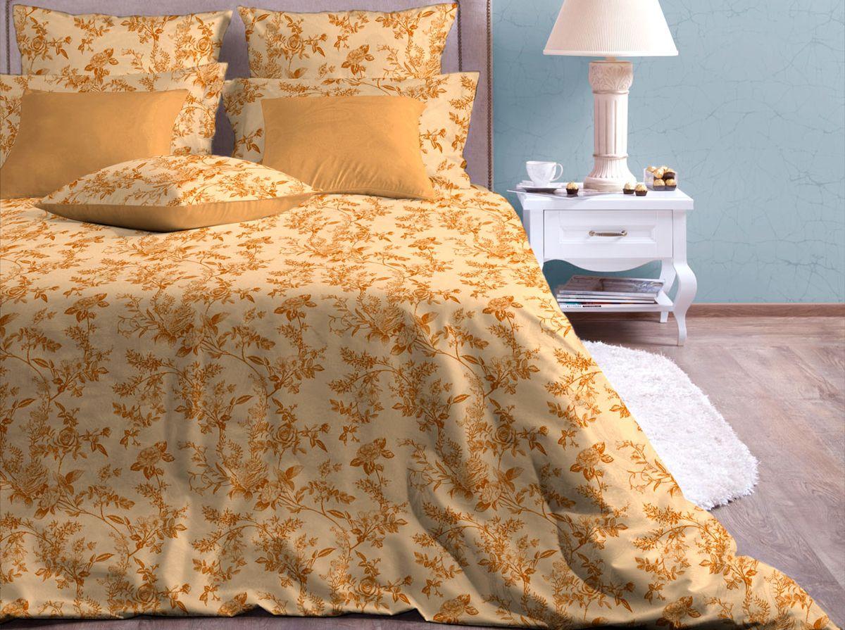 Комплект белья Хлопковый Край Райский сад, семейный, наволочки 70x7050б-1ХКссКомплект постельного белья выполнен из качественной бязи и украшен оригинальным рисунком. Комплект состоит из двух пододеяльников, простыни и двух наволочек. Бязь представляет из себя хлопчатобумажную матовую ткань (не блестит). Главные отличия переплетения: оно плотное, нити толстые и частые. Из-за этого материал очень прочный и практичный. Постельное белье Хлопковый Край экологичное, гипоаллергенное, оно легко стирается и гладится, не сильно мнется и выдерживает очень много стирок, при этом сохраняя яркость цвета и рисунка.