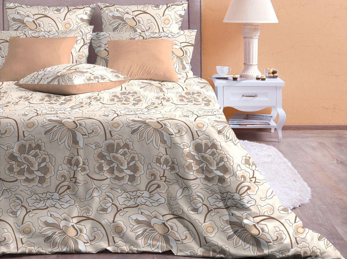 Комплект белья Хлопковый Край Лотос, евро, наволочки 70x7040б-1ХКссКомплект постельного белья выполнен из качественной бязи и украшен оригинальным рисунком. Комплект состоит из пододеяльника, простыни и двух наволочек. Бязь представляет из себя хлопчатобумажную матовую ткань (не блестит). Главные отличия переплетения: оно плотное, нити толстые и частые. Из-за этого материал очень прочный и практичный. Постельное белье Хлопковый Край экологичное, гипоаллергенное, оно легко стирается и гладится, не сильно мнется и выдерживает очень много стирок, при этом сохраняя яркость цвета и рисунка.