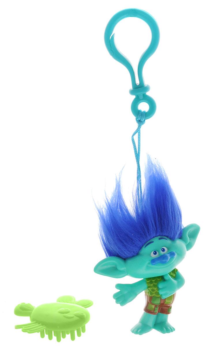 Zuru Брелок Тролль Branch цвет зеленый синий 62016201Фигурка-брелок тролля Branch из детского мультфильма Тролли непременно привлечет внимание вашей малышки. Branch - симпатичный тролль с ярко-синими волосами и милой улыбкой. Игрушка выполнена в виде фигурки-брелока, которой можно украсить сумку или портфель. Фигурка с практичным пластиковым карабином на прочном шнурке. В наборе с фигуркой имеется расческа, с помощью которой можно ухаживать за роскошной прической тролля.