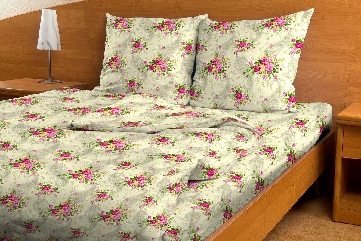 Комплект белья Amore Mio Buket, 1,5-спальный, наволочки 70x7080773Комплект постельного белья Amore Mio является экологически безопасным для всей семьи, так как выполнен из бязи (100% хлопок). Комплект состоит из пододеяльника, простыни и двух наволочек. Постельное белье оформлено оригинальным рисунком и имеет изысканный внешний вид. Легкая, плотная, мягкая ткань отлично стирается, гладится, быстро сохнет. Рекомендации по уходу: Химчистка и отбеливание запрещены. Рекомендуется стирка в прохладной воде при температуре не выше 30°С.
