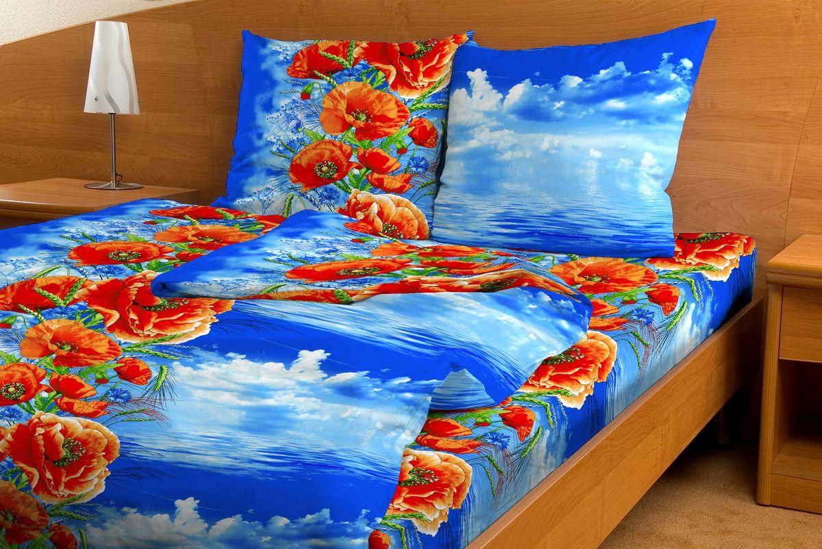 Комплект белья Amore Mio Makovii bereg, 1,5-спальный, наволочки 70x7080777Комплект постельного белья Amore Mio является экологически безопасным для всей семьи, так как выполнен из бязи (100% хлопок). Комплект состоит из пододеяльника, простыни и двух наволочек. Постельное белье оформлено оригинальным рисунком и имеет изысканный внешний вид. Легкая, плотная, мягкая ткань отлично стирается, гладится, быстро сохнет. Рекомендации по уходу: Химчистка и отбеливание запрещены. Рекомендуется стирка в прохладной воде при температуре не выше 30°С.
