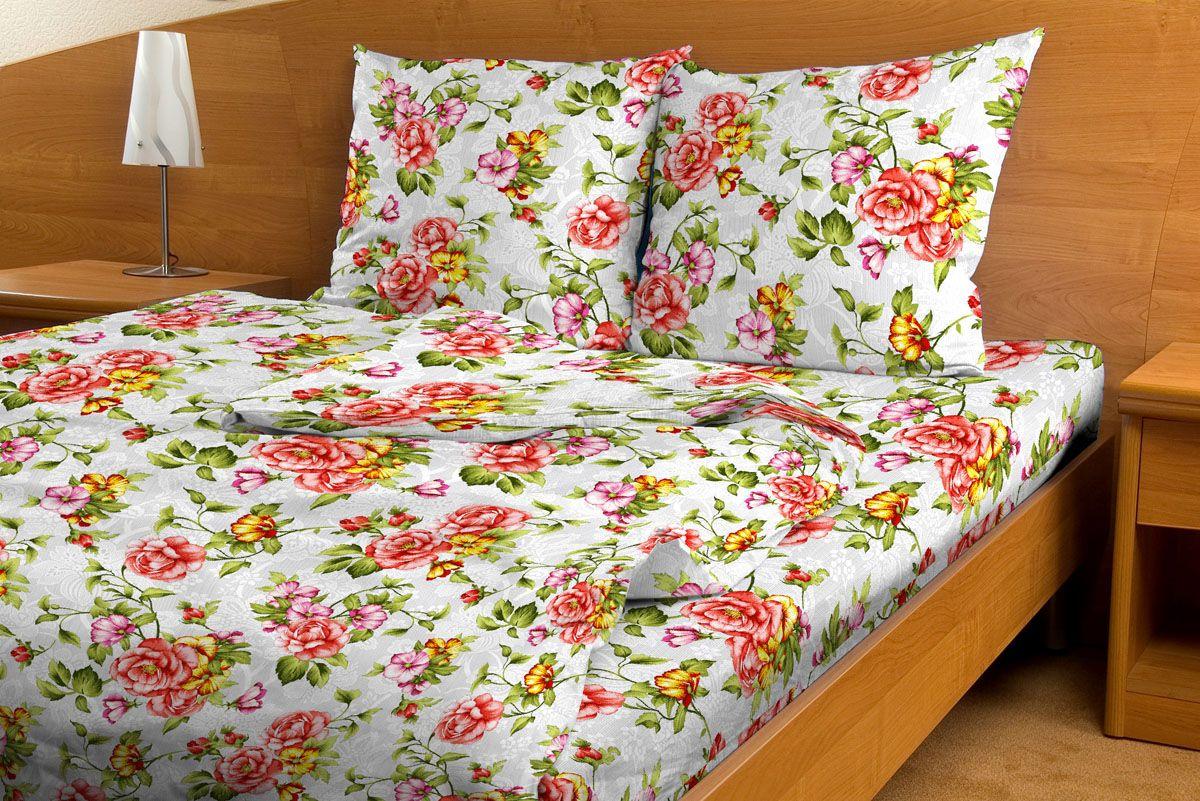 Комплект белья Amore Mio Skazka, 1,5-спальный, наволочки 70x70, цвет: белый, красный, желтый80789Комплект постельного белья Amore Mio является экологически безопасным для всей семьи, так как выполнен из бязи (100% хлопок). Комплект состоит из пододеяльника, простыни и двух наволочек. Постельное белье оформлено оригинальным рисунком и имеет изысканный внешний вид. Легкая, плотная, мягкая ткань отлично стирается, гладится, быстро сохнет. Рекомендации по уходу: Химчистка и отбеливание запрещены. Рекомендуется стирка в прохладной воде при температуре не выше 30°С.