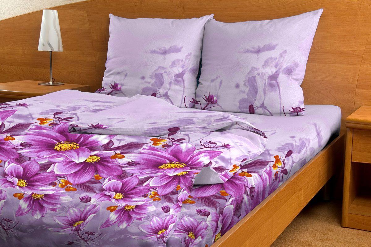 Комплект белья Amore Mio Vostorg, 1,5-спальный, наволочки 70x70, цвет: фиолетовый, желтый80803Комплект постельного белья Amore Mio является экологически безопасным для всей семьи, так как выполнен из бязи (100% хлопок). Комплект состоит из пододеяльника, простыни и двух наволочек. Постельное белье оформлено оригинальным рисунком и имеет изысканный внешний вид. Легкая, плотная, мягкая ткань отлично стирается, гладится, быстро сохнет. Рекомендации по уходу: Химчистка и отбеливание запрещены. Рекомендуется стирка в прохладной воде при температуре не выше 30°С.