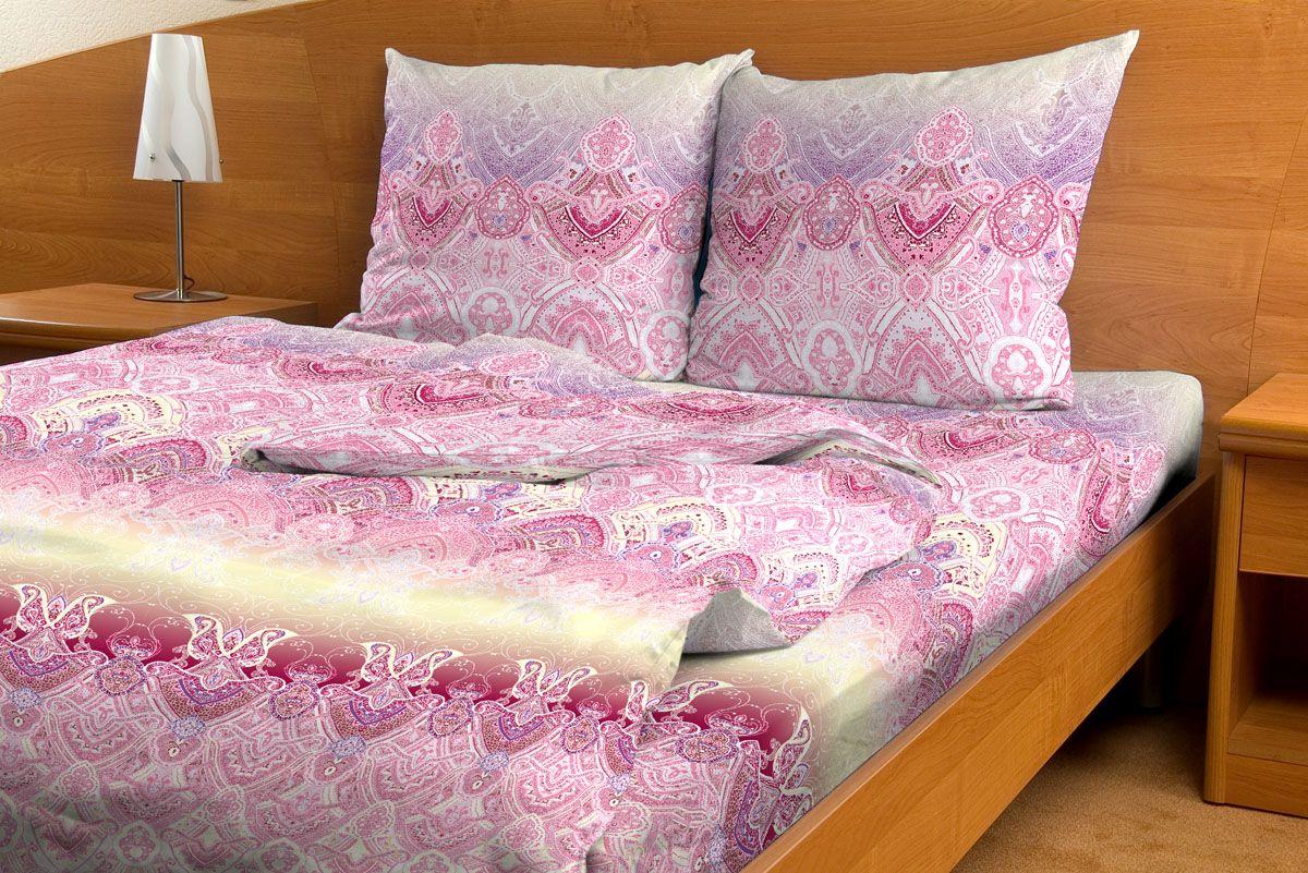 Комплект белья Amore Mio Rassvet, евро, наволочки 70x70, цвет: розовый, молочный80851Комплект постельного белья Amore Mio является экологически безопасным для всей семьи, так как выполнен из бязи (100% хлопок). Комплект состоит из пододеяльника, простыни и двух наволочек. Постельное белье оформлено оригинальным рисунком и имеет изысканный внешний вид. Легкая, плотная, мягкая ткань отлично стирается, гладится, быстро сохнет. Рекомендации по уходу: Химчистка и отбеливание запрещены. Рекомендуется стирка в прохладной воде при температуре не выше 30°С.