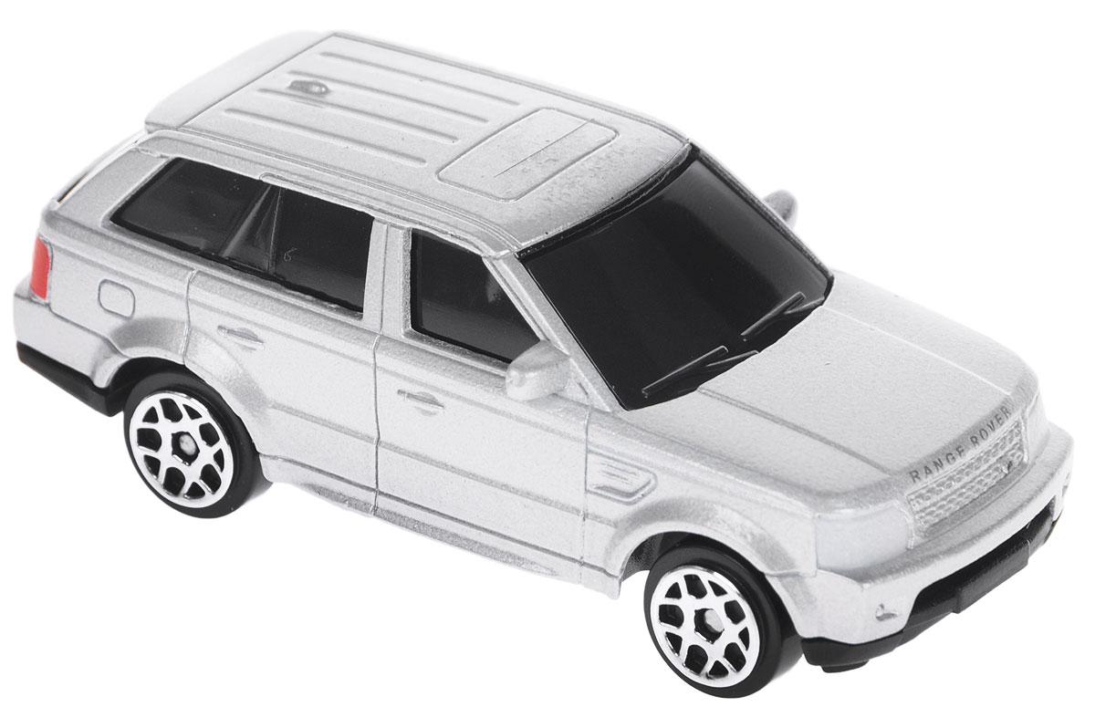 Uni-Fortune Toys Модель автомобиля Land Rover Range Rover Sport цвет серебристый344009S_серебристыйМодель автомобиля Uni-Fortune Toys Land Rover Range Rover Sport станет любимой игрушкой вашего ребенка. Благодаря броской внешности, а также великолепной точности, с которой создатели этой масштабной модели передали внешний вид настоящего автомобиля, машинка станет подлинным украшением любой коллекции авто. Во время игры с такой машиной у ребенка развивается мелкая моторика рук, фантазия и воображение. Машина будет долго служить своему владельцу благодаря металлическому корпусу с элементами из пластика.