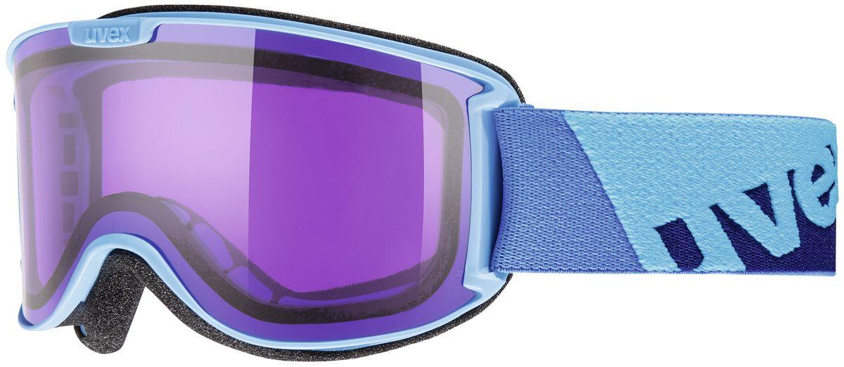 Маска горнолыжная Uvex Skyper, цвет: бирюзовый0429-4022Маска для облачной погоды, тумана и искусственного освещения. Вентиляция и покрытие Supravision предотвращают запотевание маски. Погодные условия Облачность, туман, искусственное освещение Защита от УФ 100% Поляризация Нет Вентиляция Да Покрытие анти-фог Да Совместимость со шлемом Да Сменная линза Нет Материал линзы Поликарбонат Материал оправы Полиуретан Конструкция линзы Двойная Форма линзы Цилиндрическая Возможность замены линзы Да