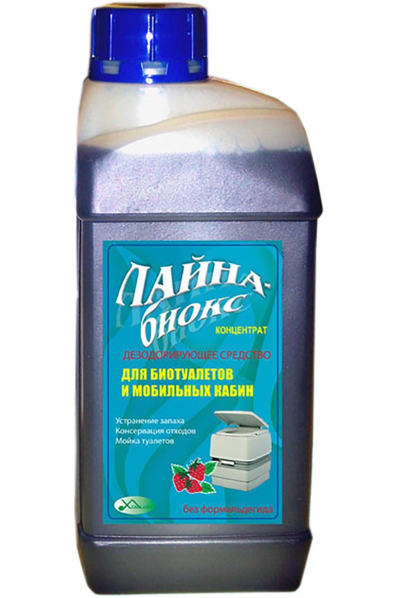 Средство дезодорирующее Лайна Биокс, универсальное, концентрат, для всех типов дачных и биотуалетов, 1 л0169Универсальное средство для дачных туалетов, выгребных ям и биотуалетов. Предназначено для консервации и дезодорации отходов. Устраняет неприятные запахи и обладает антимикробным действием. Компоненты биоразлагаемы.