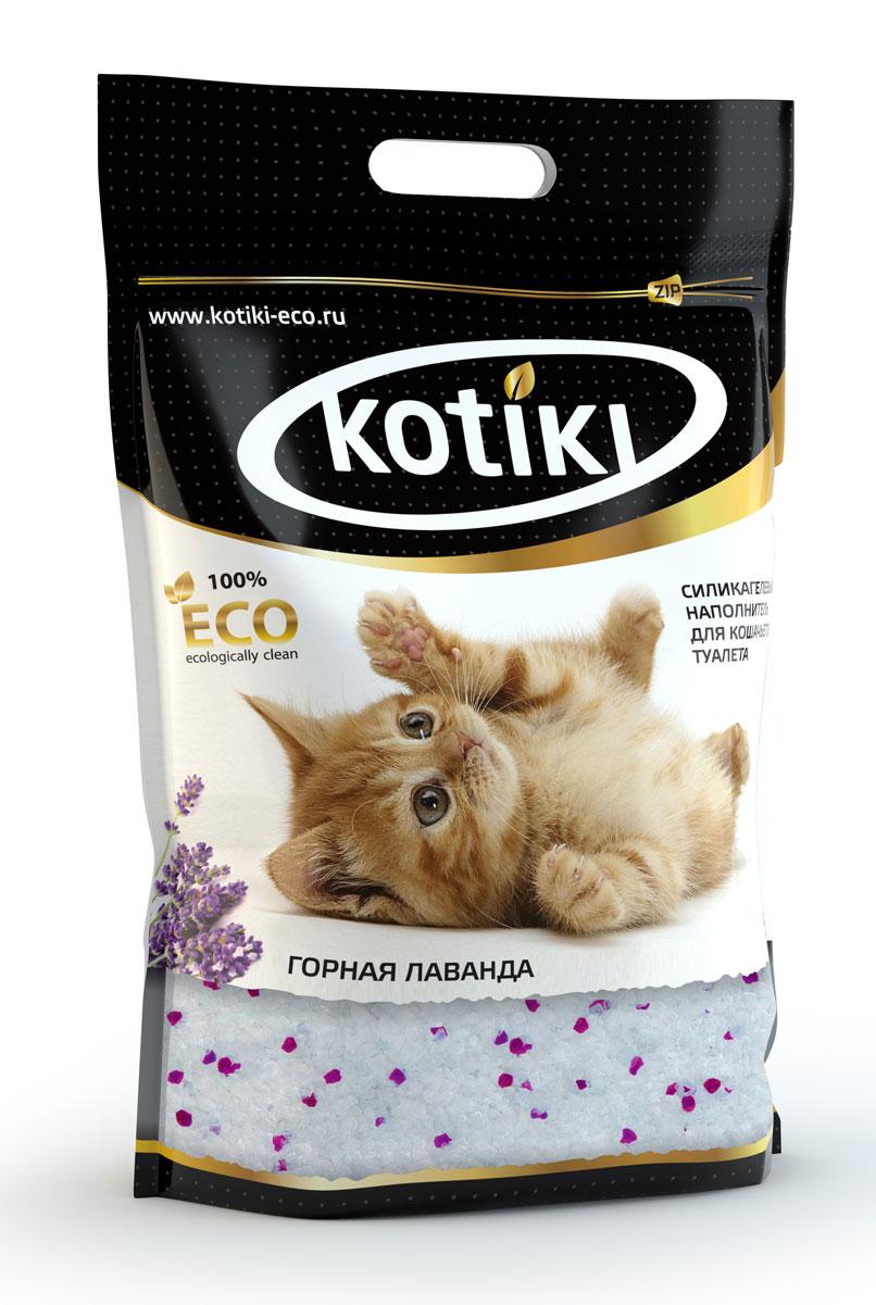 Наполнитель для кошачьего туалета Kotiki