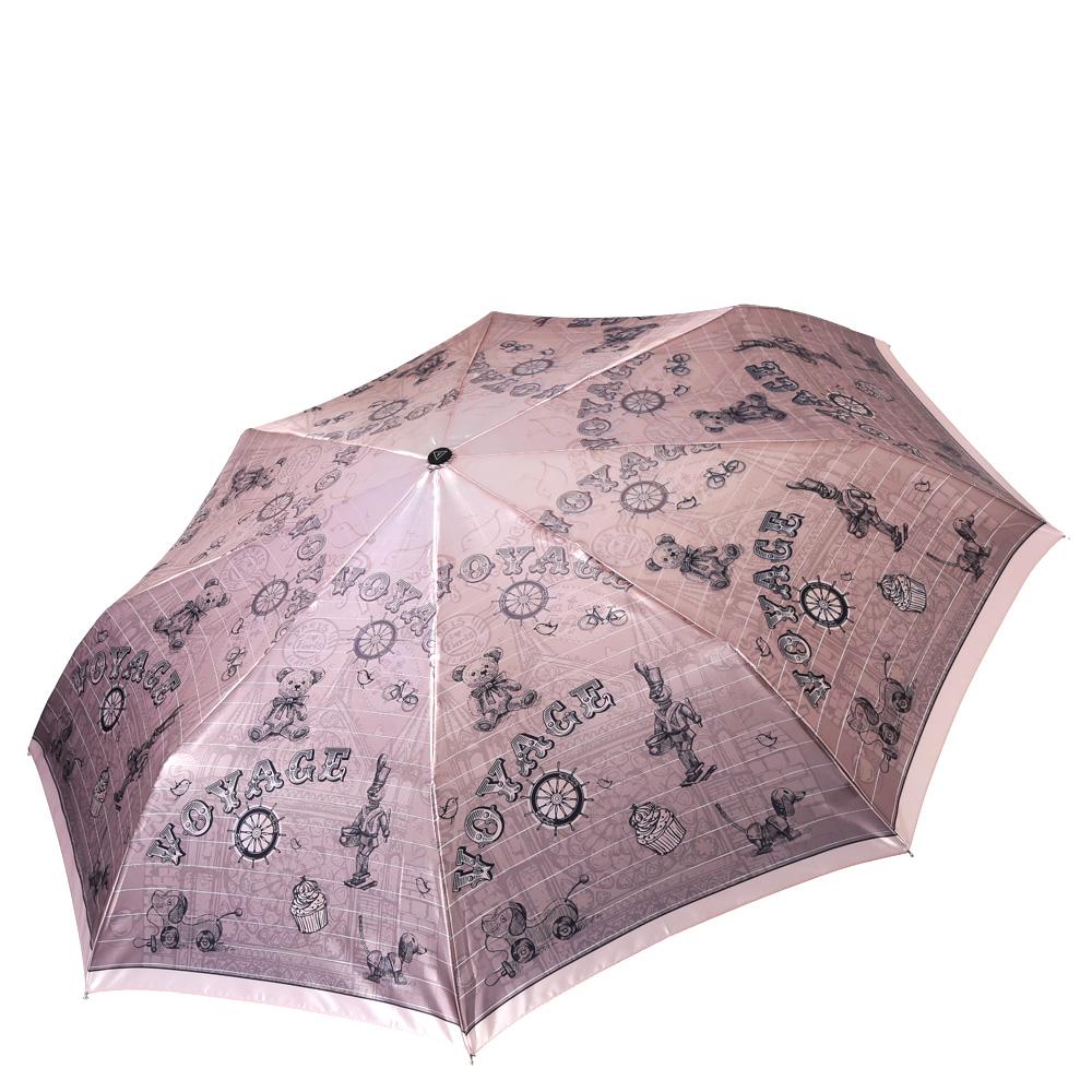 Зонт женский Fabretti, цвет: бежевый. L-16111-3L-16111-3Женский зонт от итальянского бренда Fabretti. Значительным преимуществом данной модели является система антиветер, которая позволяет выдержать сильные порывы ветра. Материал купола – сатин. Он невероятно изящен, приятен на ощупь, обладает высокой прочностью, а также устойчив к выцветанию. Эргономичная ручка сделана из высококачественного пластика-полиуретана с противоскользящей обработкой.