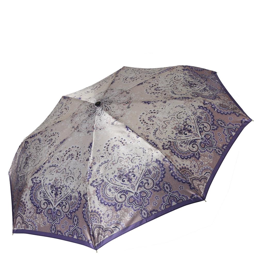 Зонт женский Fabretti, цвет: бежевый. S-16106-4S-16106-4Женский зонт от итальянского бренда Fabretti. Значительным преимуществом данной модели является система антиветер, которая позволяет выдержать сильные порывы ветра. Материал купола – сатин. Он невероятно изящен, приятен на ощупь, обладает высокой прочностью, а также устойчив к выцветанию. Эргономичная ручка сделана из высококачественного пластика-полиуретана с противоскользящей обработкой.