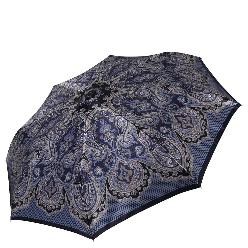 Зонт женский Fabretti, цвет: синий. S-16106-6S-16106-6Женский зонт от итальянского бренда Fabretti. Значительным преимуществом данной модели является система антиветер, которая позволяет выдержать сильные порывы ветра. Материал купола – сатин. Он невероятно изящен, приятен на ощупь, обладает высокой прочностью, а также устойчив к выцветанию. Эргономичная ручка сделана из высококачественного пластика-полиуретана с противоскользящей обработкой.