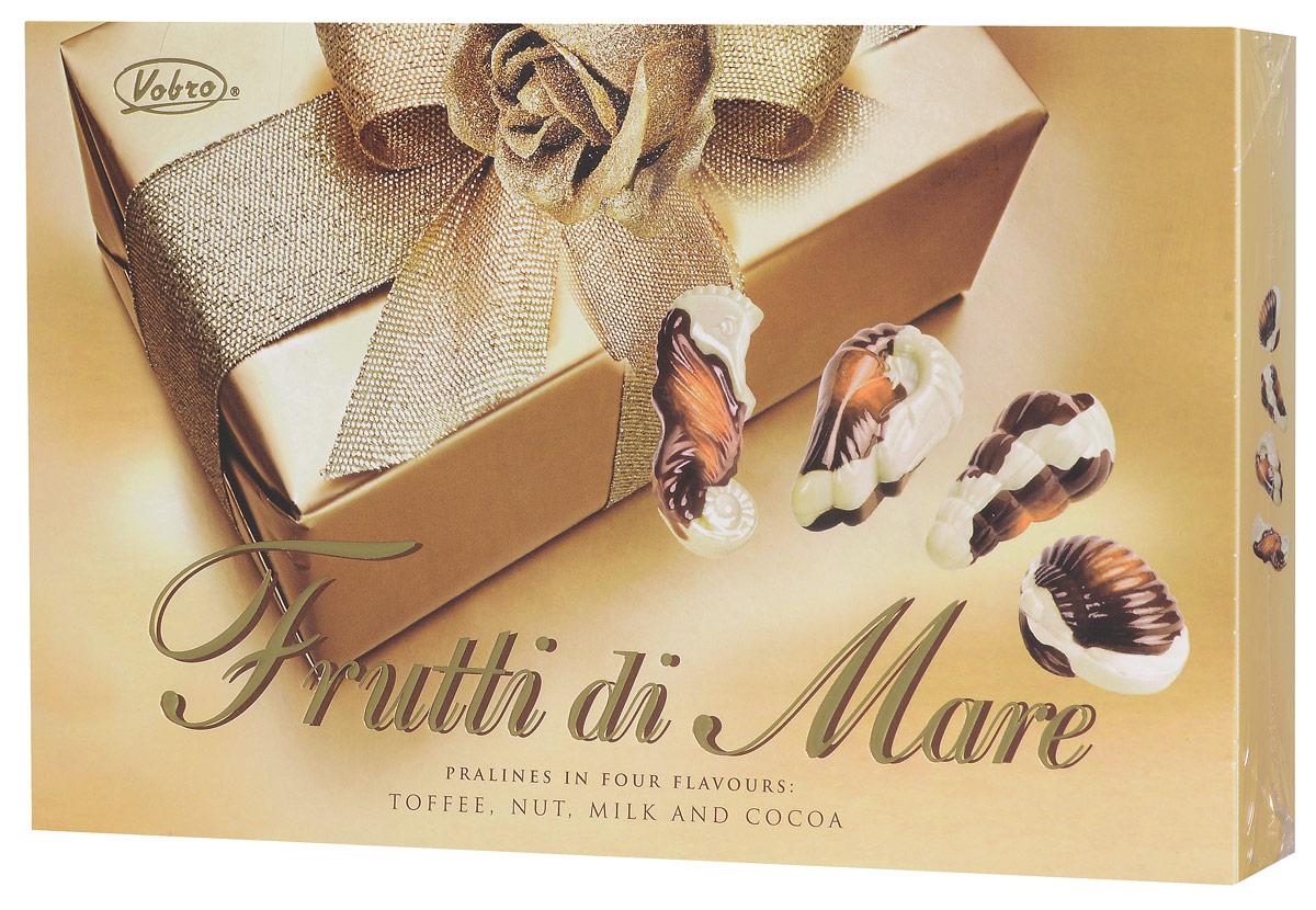 Vobro Frutti di Mare набор шоколадных конфет в виде морских ракушек, 175 г