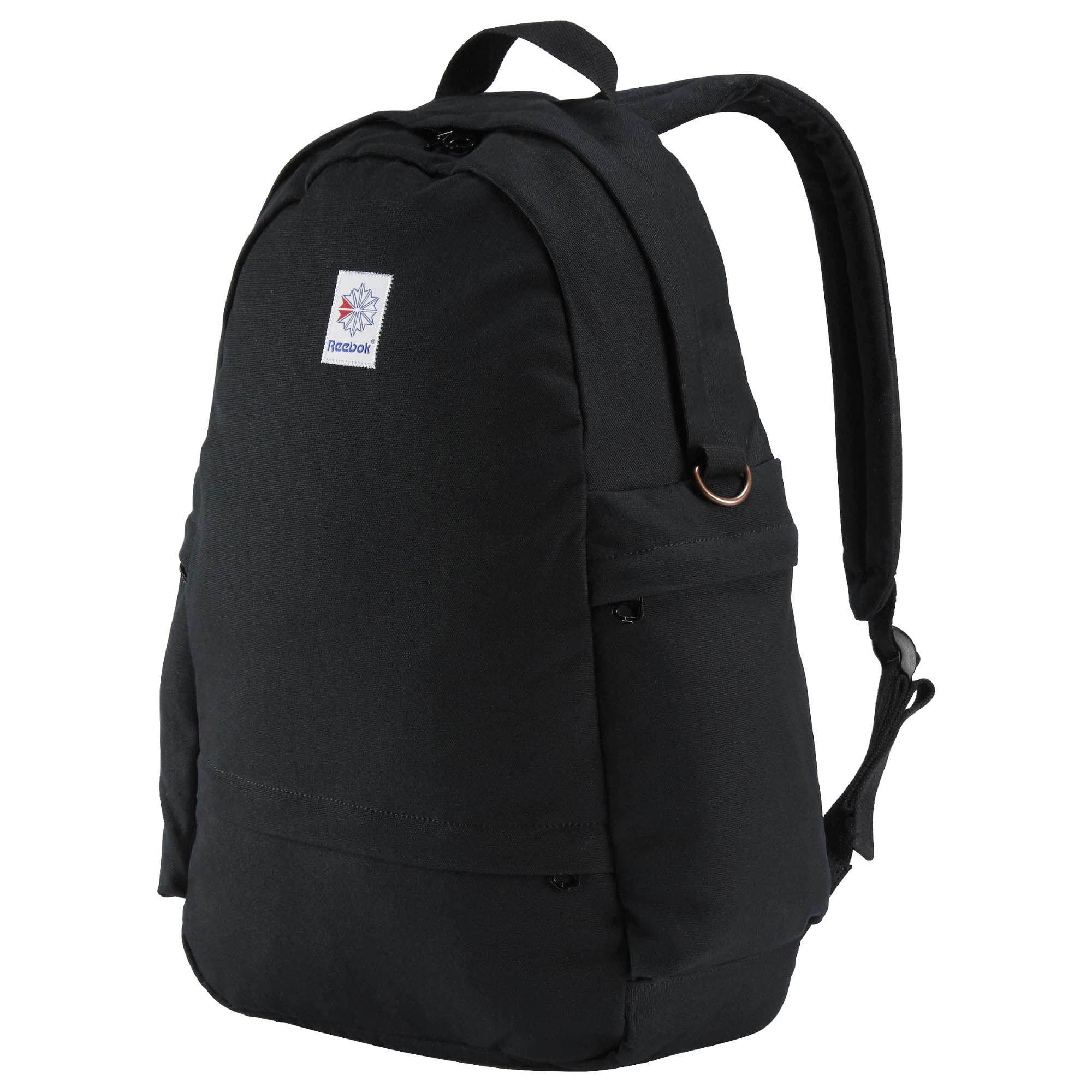 Рюкзак городской Reebok Cl Fo Jwf Backpack, цвет: черныйAX9955Рюкзак Reebok Classics. Этот стильный рюкзак с успехом вместит в себя все необходимое. Отделение для ноутбука поможет всегда быть на связи, просторное основное отделение отлично подходит для хранения одежды и прочих вещей вроде проводов, а мягкие плечевые ремни обеспечивают комфорт.