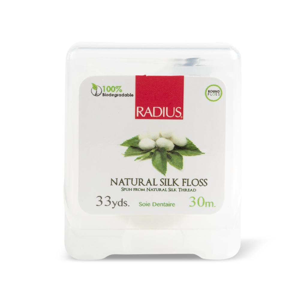 Radius, Натуральная шелковая зубная нить/Natural silk Floss, 30м