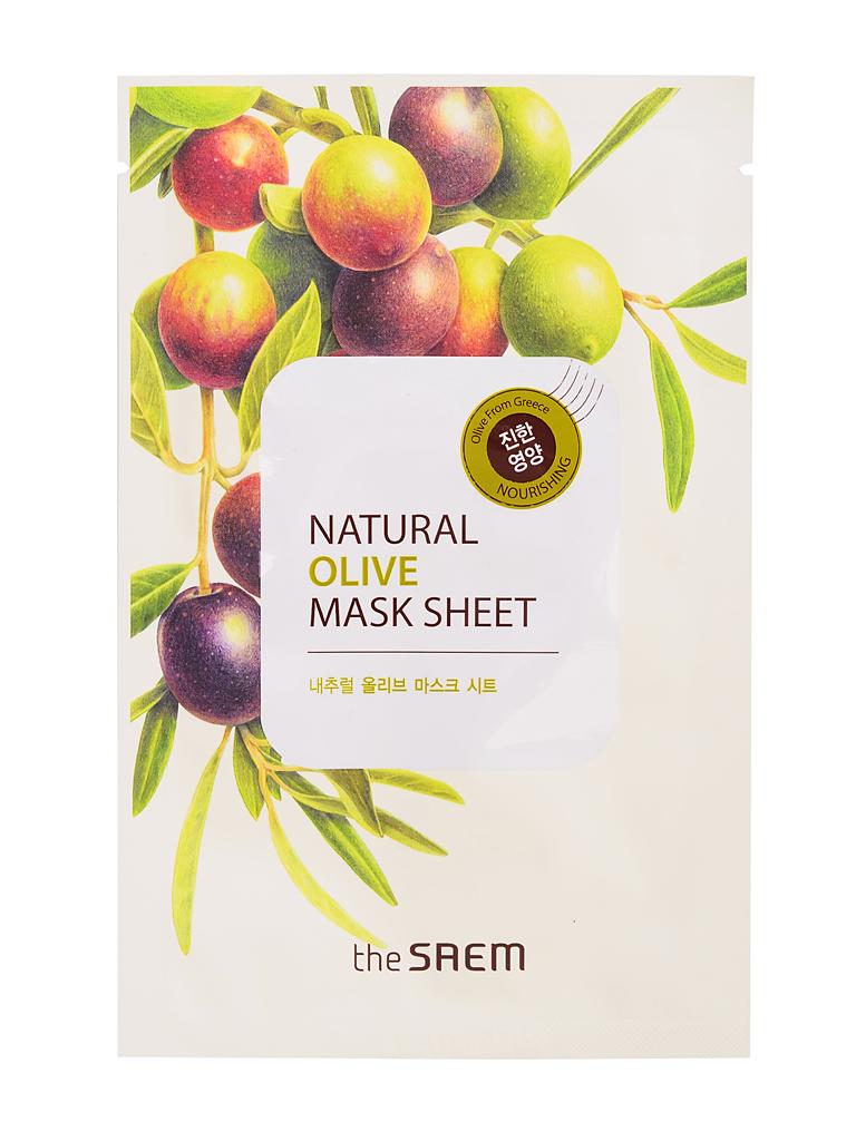The Saem Маска тканевая с экстрактом оливы Natural Olive Mask Sheet, 21 млСМ748Тканевая маска содержит экстракт оливы, минеральную воду, кислород. Обеспечивает увлажнение питание для здоровой кожи. Минеральная вода насыщает кожу полезными микро-элементами и солями.