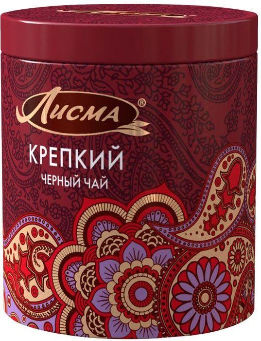 Лисма Крепкий черный листовой чай, 65 г (жестяная банка)100150