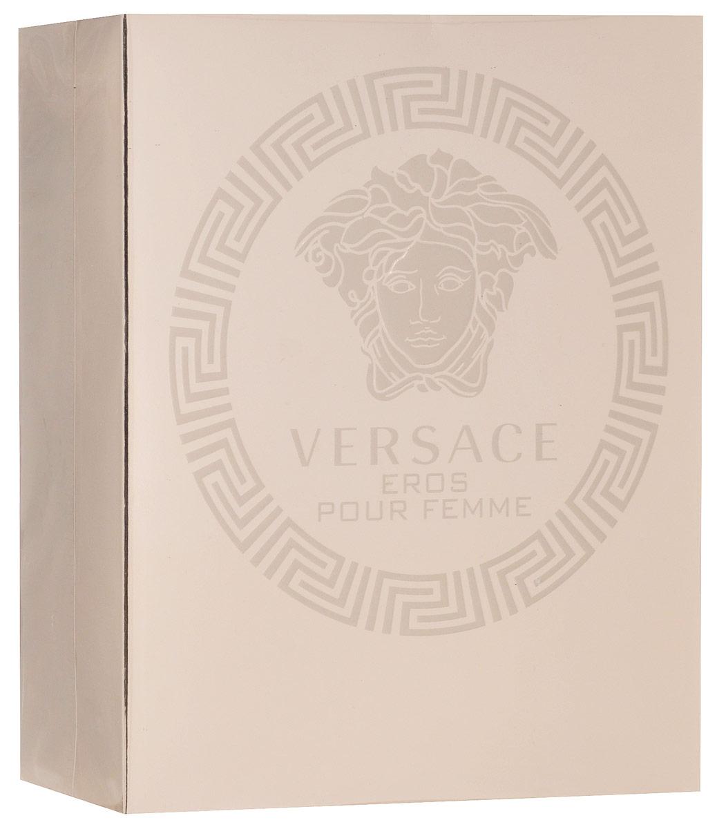 Versace Eros Pour Femme Набор Парфюмированная вода Женская 30 мл+лосьон для тела 50 мл75004052Всепобеждающая власть женщины, заключенная в искрящемся и чувственном аромате. Созданныи? Донателлои? Версаче, этот аромат излучает силу, индивидуальность и соблазн. Новая легенда от Versace, повествующая о страсти. Аромат: цветочный, древесный, мускусный.