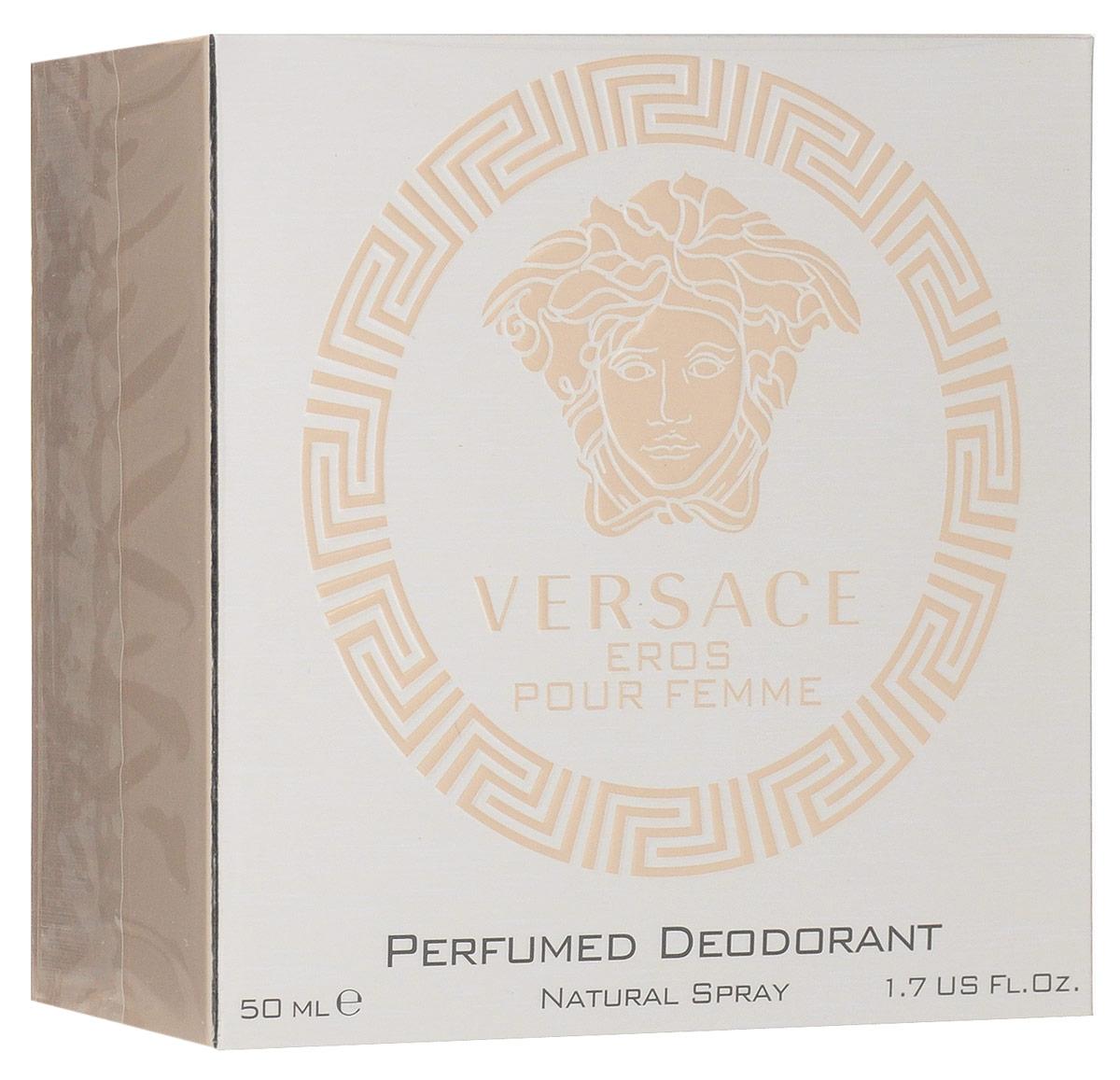 Versace Eros Pour Femme Дезодорант спрей 50 мл