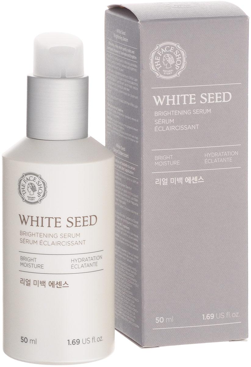 The Face Shop Осветляющая сыворотка White Seed, 50 млУТ-00000011Эффективное осветление и природное сияние вашей кожи! Сыворотка White Seed создана для бережного отбеливания кожи. Мягко осветляя кожу, она эффективно питает кожу, насыщая ее витаминами, необходимыми для поддержания здорового внешнего вида.