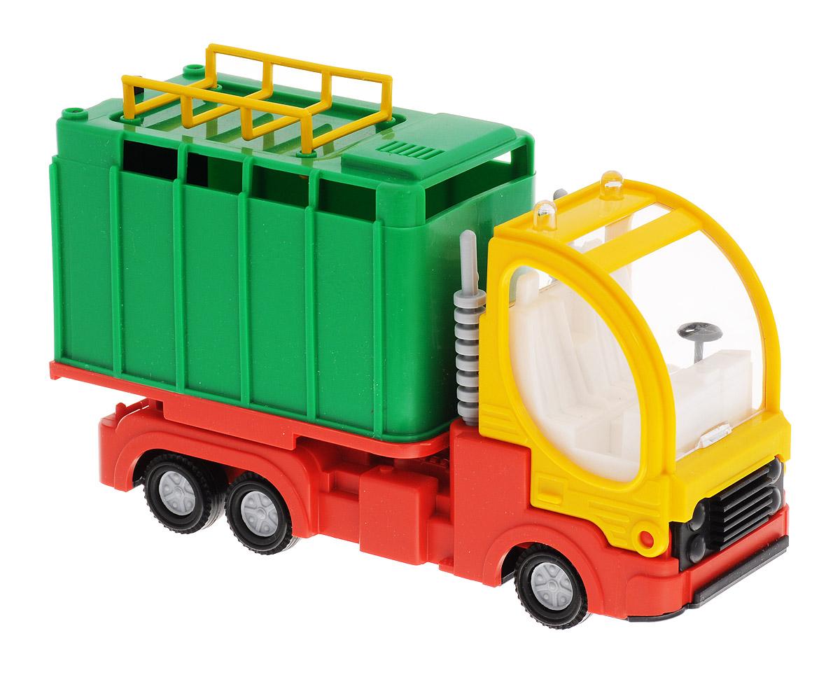 Форма Малый фургон цвет зеленыйС-41-Ф_кузов зеленый, кабина желтаяМашинка Малый фургон от бренда Форма станет главным развлечением вашего малыша. Кабина машины откидывается вперед и можно посмотреть моторный отсек. Двери фургона открываются и в него можно положить игрушечный груз. Игрушка создана из материала высокого качества, а ее дизайн напоминает реальную технику. Такая машинка обязательно порадует вашего малыша и станет замечательным подаркам для юного покорителя дорог.
