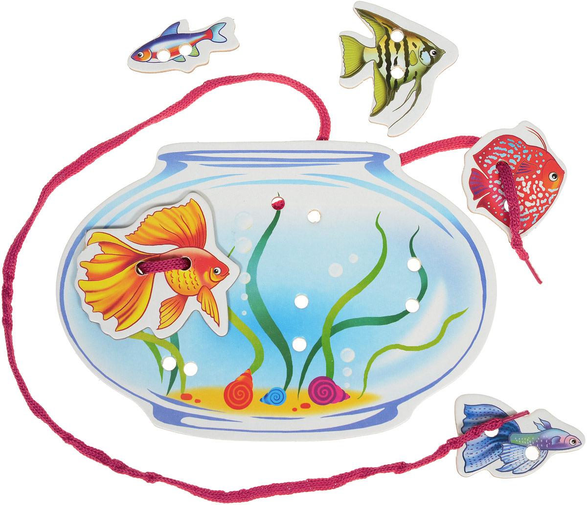 Улыбка Шнуровка Веселые рыбки