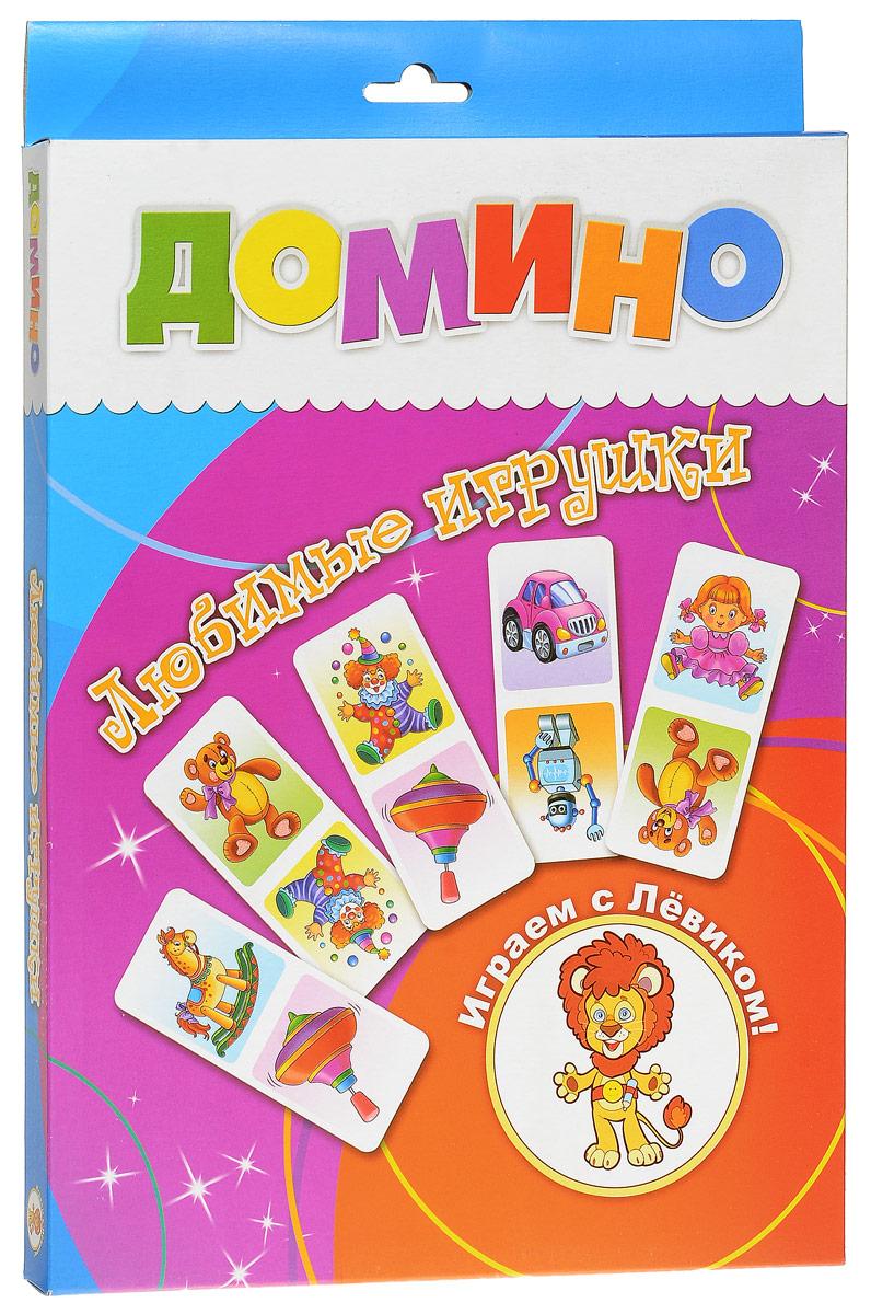 Улыбка Домино Любимые игрушки29-0002Домино Улыбка Любимые игрушки - это классическое домино, адаптированное для детей. Игра состоит из 28 карточек с изображением игрушек. В игре могут играть одновременно от двух до четырех человек. Домино Улыбка Любимые игрушки развивает внимание, память и наблюдательность ребёнка, а также мелкую моторику рук.