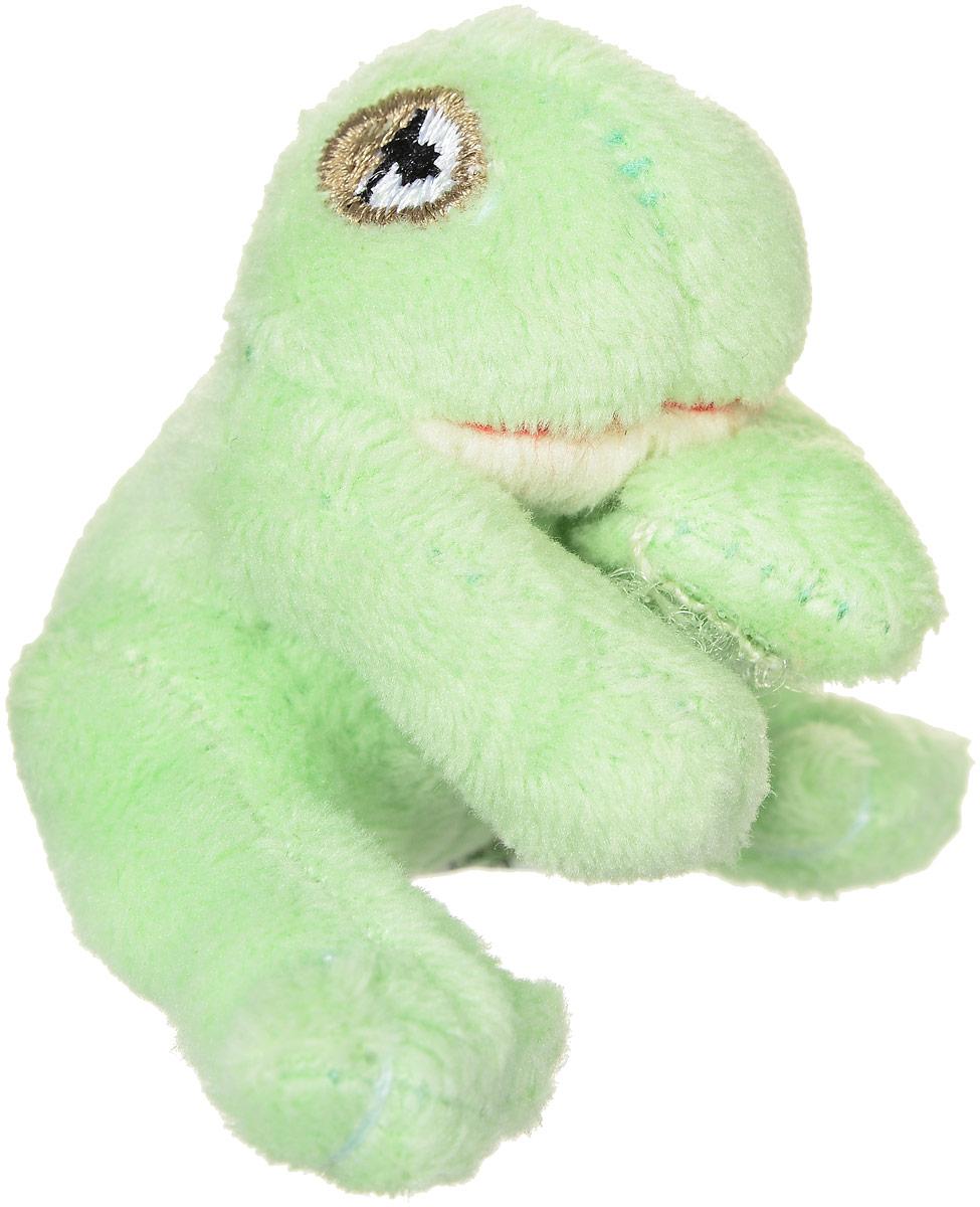 Beanzees Мягкая игрушка Лягушка Fifi 5 смB31001_светло-зеленый лягушкаОчаровательная мягкая игрушка Beanzees Лягушка Fifi подарит своей владелице море позитивных эмоций. Мягкие игрушки Beanzees - это крошечные плюшевые животные. На передних лапках игрушки расположены маленькие липучки. С помощью этих липучек можно скреплять игрушки в браслеты и ожерелья или просто украсить комнату гирляндой из них. Игрушку можно повесит на сумку, или украсить ею карандаш или ручку. Животики фигурок заполнены гранулами, что делает их очень приятными на ощупь, развивает тактильные ощущения и помогает снять эмоциональное напряжение!