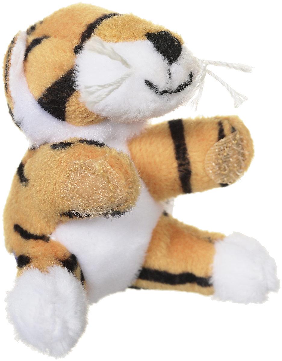 Beanzees Мягкая игрушка Тигр Taffy 5 смB31001_светло-коричневый, белый тигрОчаровательная мягкая игрушка Beanzees Тигр Taffy подарит своей владелице море позитивных эмоций. Мягкие игрушки Beanzees - крошечные плюшевые животные. С помощью липучек на лапках зверюшек можно скреплять игрушки в браслеты и ожерелья или просто украсить комнату гирляндой из них. Животики фигурок заполнены гранулами, что делает их очень приятными на ощупь, развивает тактильные ощущения и помогает снять эмоциональное напряжение!