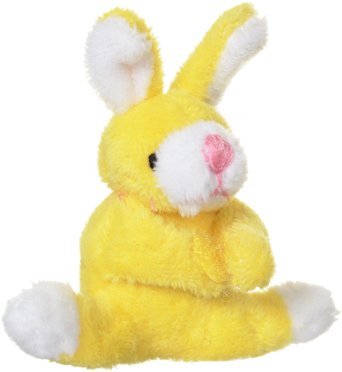 Beanzees Мягкая игрушка Кролик Butter Scotch 6 смB31001_желтый заяцОчаровательная мягкая игрушка Beanzees Кролик Butter Scotch подарит своей владелице море позитивных эмоций. Мягкие игрушки Beanzees - крошечные плюшевые животные. С помощью липучек на лапках зверюшек можно скреплять игрушки в браслеты и ожерелья или просто украсить комнату гирляндой из них. Животики фигурок заполнены гранулами, что делает их очень приятными на ощупь, развивает тактильные ощущения и помогает снять эмоциональное напряжение!