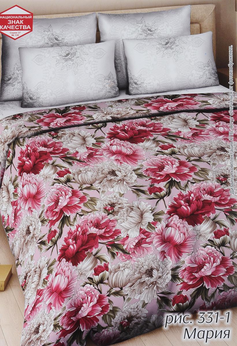 Комплект белья Василиса Мария, 2-спальный, наволочки 70х70331/2Комплект постельного белья Василиса Мария состоит из пододеяльника, простыни и двух наволочек. Постельное белье оформлено оригинальным рисунком и имеет изысканный внешний вид. Белье изготовлено из поплина (100% хлопка). Неоспоримым плюсом постельного белья из такой ткани является мягкость и легкость, она прекрасно пропускает воздух, приятная на ощупь и за ней легко ухаживать. Приобретая комплект постельного белья Василиса Мария, вы можете быть уверенны в том, что покупка доставит вам и вашим близким удовольствие и подарит максимальный комфорт.