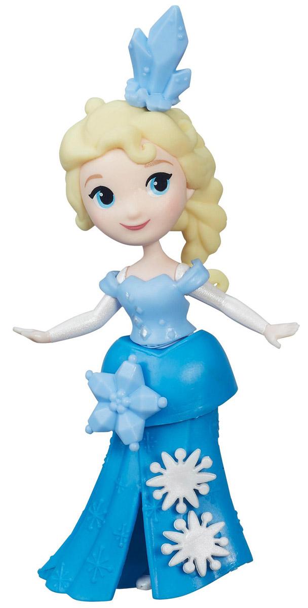 Disney Frozen Мини-кукла ЭльзаC1096EU4_C1099Мини-кукла Disney Frozen Эльза выполнена в виде сказочной принцессы из мультфильма Холодное сердце. Нарядное пластиковое платье украшено съемными декоративными элементами, на голове у Эльзы украшение в виде снежинки. Украшать платье принцессы можно специальными аксессуарами из комплекта. Для этого в платье есть небольшие отверстия, в которые вставляются украшения. Эти отверстия не бросаются в глаза, даже когда украшений нет, поэтому наличие декоративных элементов на подоле будет зависеть только от настроения хозяйки куколки. Мини-кукла Эльза выглядит просто очаровательно. Она совсем небольшая по размеру, однако тщательно проработана. Ее внешний вид полностью повторяет облик девушки из мультфильма. В комплекте дополнительное украшение для платья и ледяная корона. Вашей маленькой принцессе непременно понравится создавать наряды Эльзе и дополнять ее внешний вид украшениями из набора. Девочки смогут украшать свою героиню другими аксессуарами и нарядами (продаются...